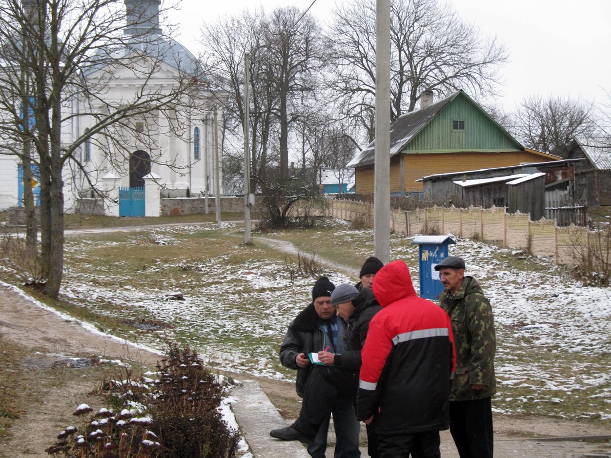 Сбор подписей в д. Шиловичи
